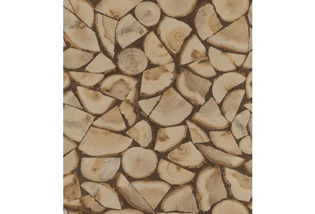 Rasch Tapete Selection 130359 Braun 0.53 x 10.05 m