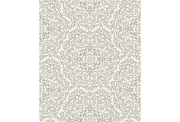 Rasch Tapete Selection Vinyl/Vlies 632637 Weiß 0.53 x 10.05 m