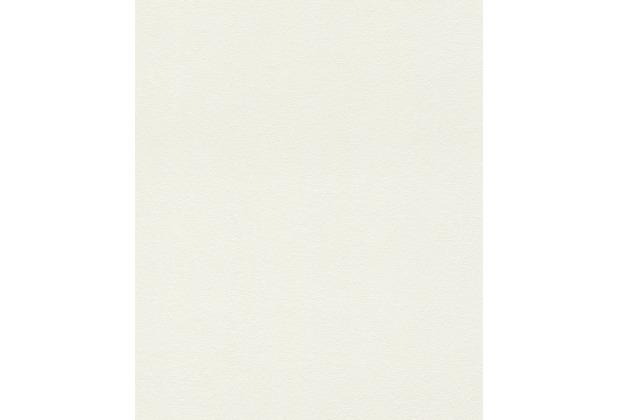 Rasch Tapete Uptown Uni 402315 Weiß