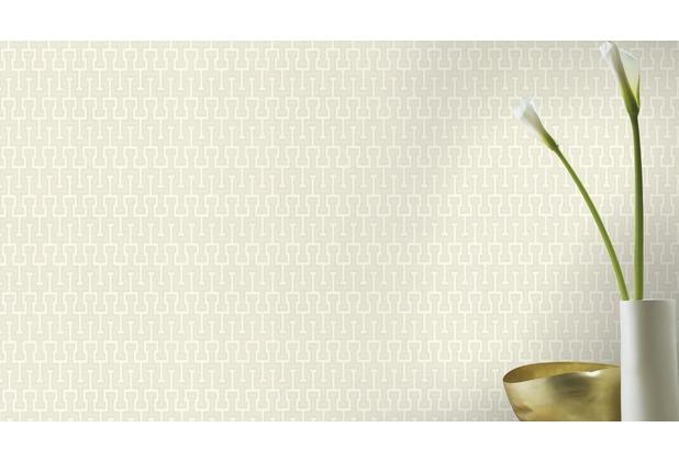 Rasch Tapete Vanity Fair II Muster 525311 creme glänzend