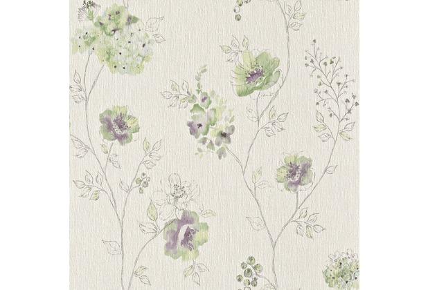 Rasch Vliestapete Blumen Blüten Aquarell, 573473
