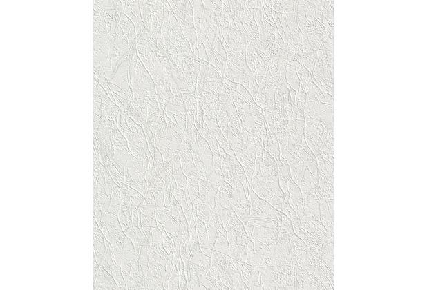 Rasch Vliestapete, weiß 470703 10,05 x 0,53 m