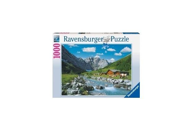 Ravensburger Premiumpuzzle im Standardformat - Karwendelgebirge, Österreich