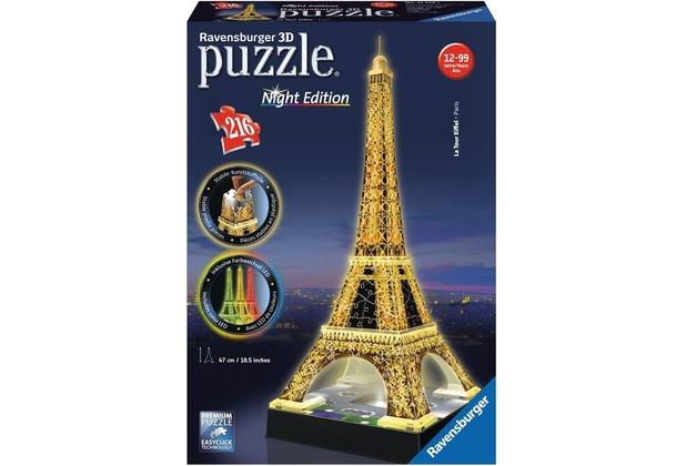 Ravensburger 3D Puzzles - Eiffelturm bei Nacht