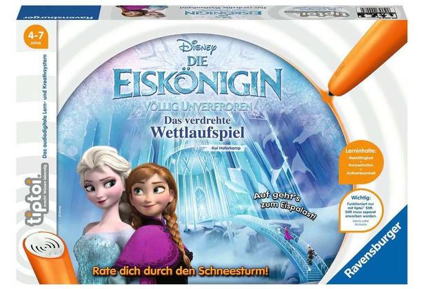 Ravensburger Die Eiskönigin - Völlig Unverfroren: Das verdrehte Wettlaufspiel