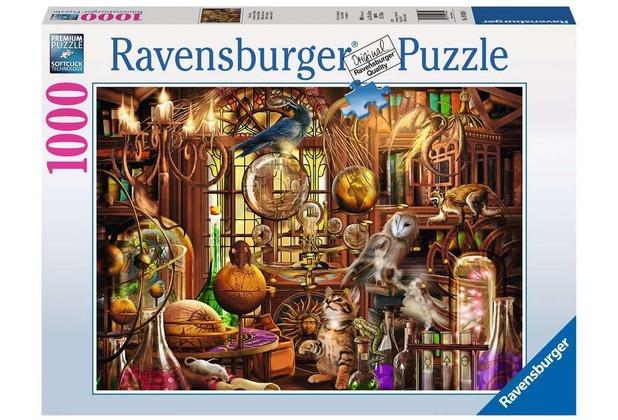 Ravensburger Premiumpuzzle im Standardformat - Merlins Labor