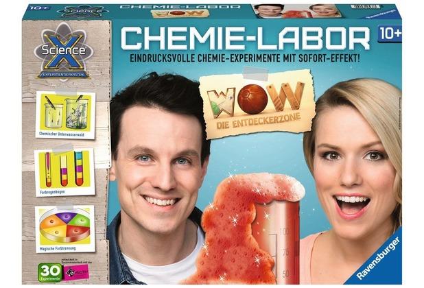 Ravensburger ScienceX WOW Chemie-Labor