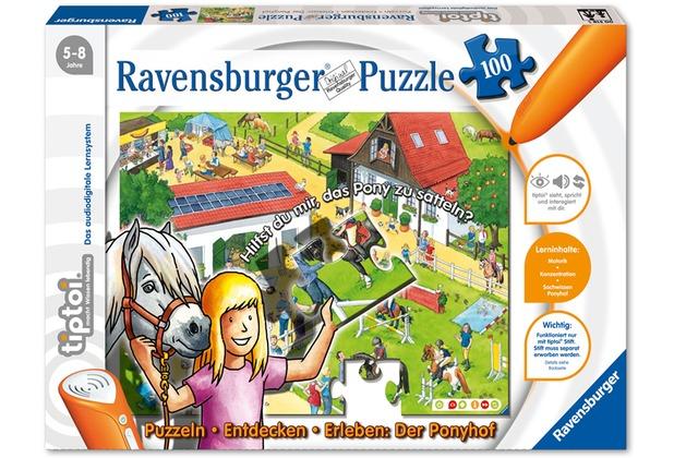 Ravensburger tiptoi - Puzzeln, Entdecken, Erleben: Der Ponyhof
