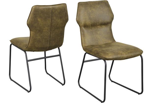 Reality Import Stuhl Titan 4 Bezug Vintage grün Gestell Drahtgestell schwarz