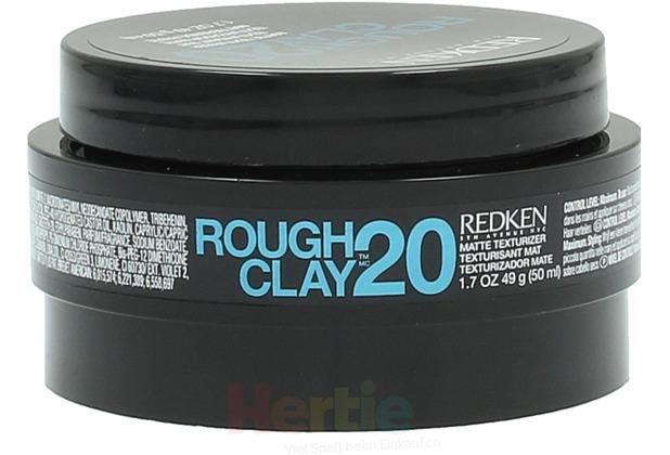 Redken -20 Rough Clay Matte Texturizer, Texturcreme 50 ml