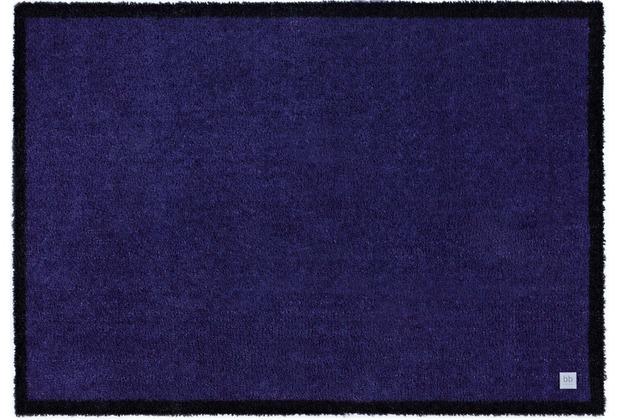 Barbara Becker Fußmatten BB Touch blackberry 39 x 58 cm