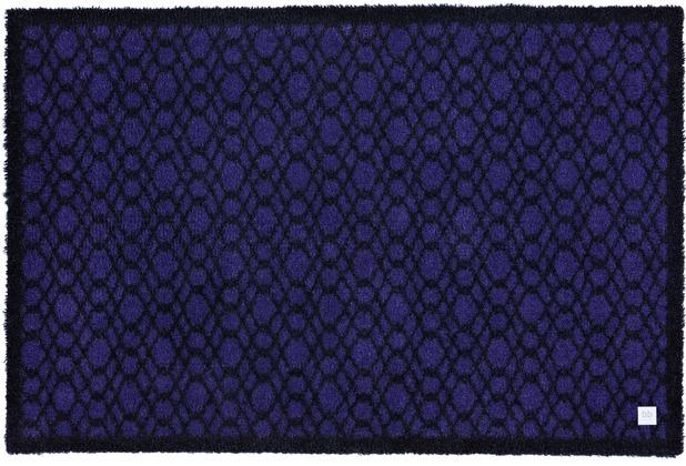 Barbara Becker Fußmatte BB String blackberry 39 x 58 cm