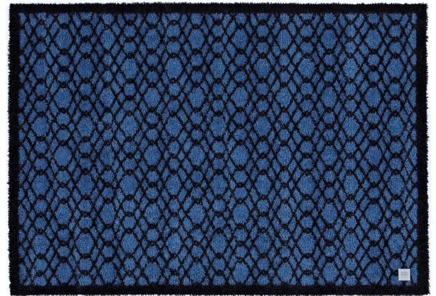 Barbara Becker Fußmatte BB String true blue 39 x 58 cm