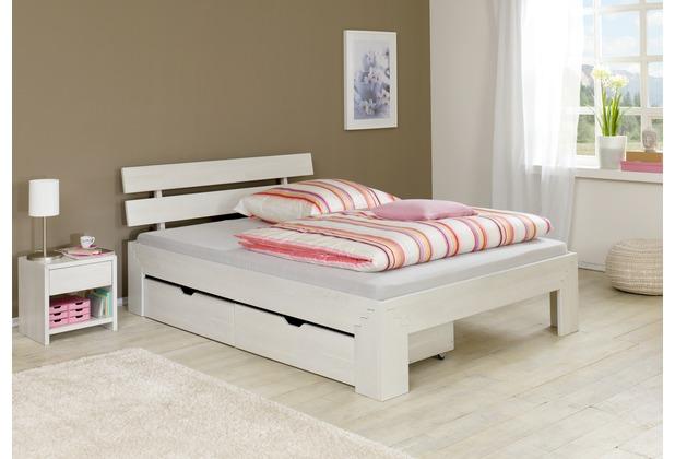 relita Bettkastenset (2 er Set) JASMINA ,Buche white-wash