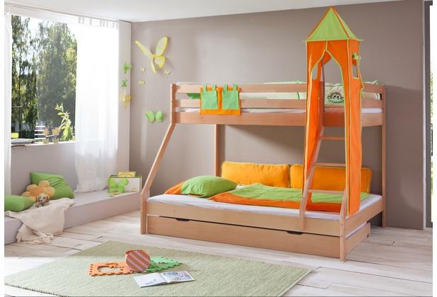 relita Bettwäsche 2-teilig grün/orange