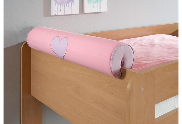 relita Nackenrolle/Kissen purple/rosa-Herz
