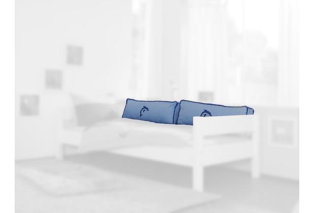 relita Seitenkissen blau/Delphin