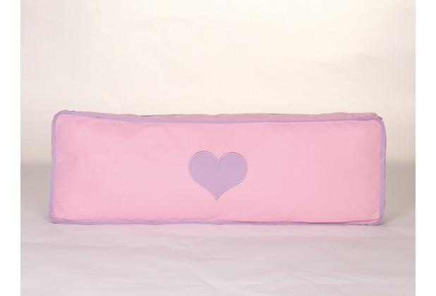 relita Seitenkissen purple/rosa-Herz