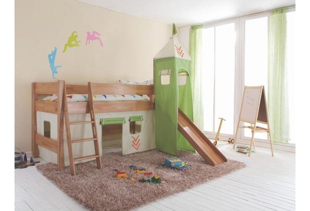 relita Stoffset mit Turm für Betten mit Rutsche, Indianer Indianer