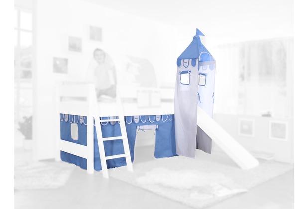 relita Stoffset mit Turm für Betten mit Rutsche blau-boy