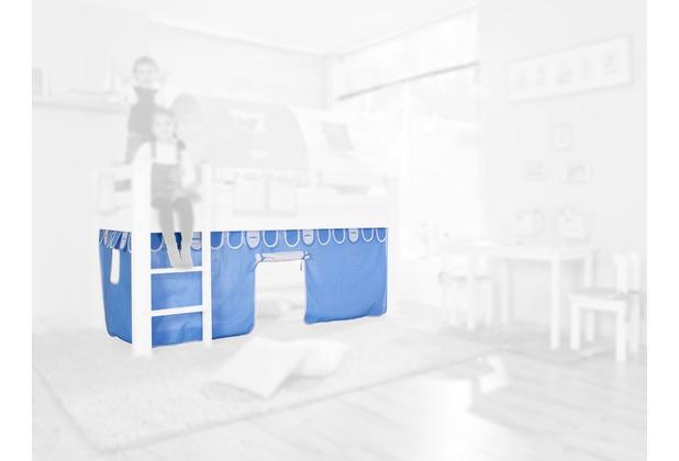 relita Stoffset ohne Turm für Halbhochbetten blau-boy