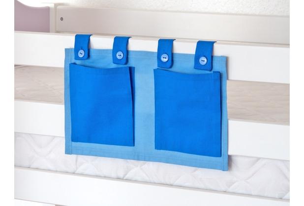 relita Stofftasche für Hoch- und Etagenbetten hellblau