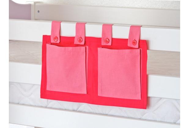relita Stofftasche für Hoch- und Etagenbetten pink/rosa