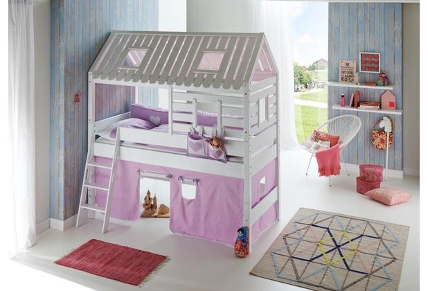 relita TOM\'s Holzhütte lackiert (nur in Kombination mit ELIYAS nutzbar) weiß