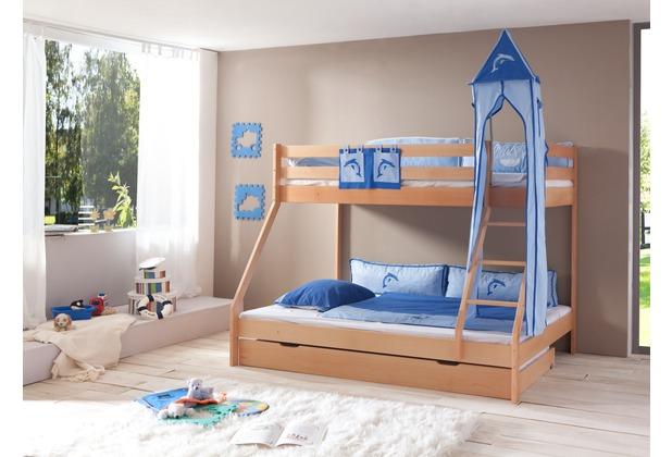 relita Turm-Set groß, blau-Delphin blau-Delphin