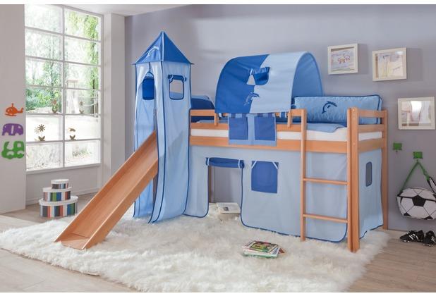 relita Turm-Set klein (Metallgestell & Stoff), blau-Delphin
