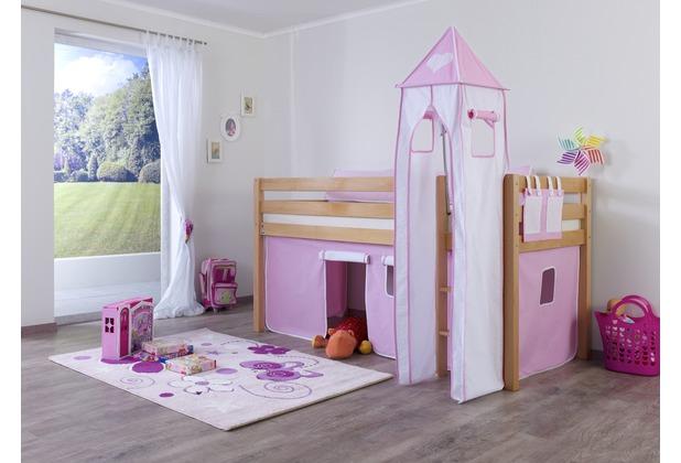 relita Turm-Set klein,  rosa/weiß-Herz