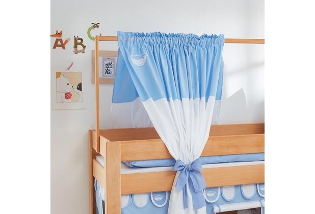 relita Zeltstoffset für Spielbett LEO blau-boy