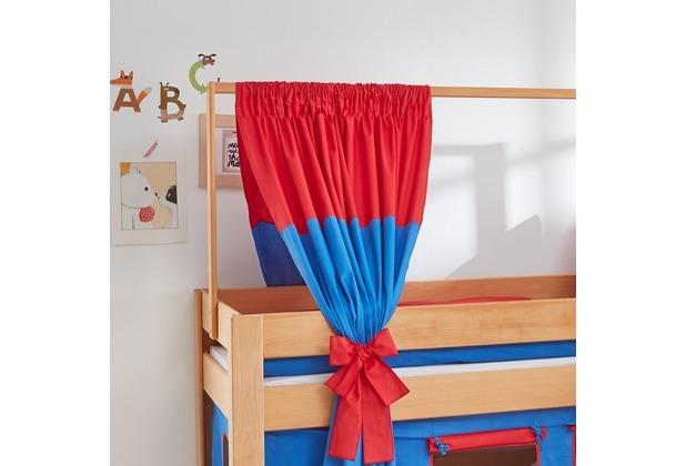 relita Zeltstoffset für Spielbett LEO blau/rot