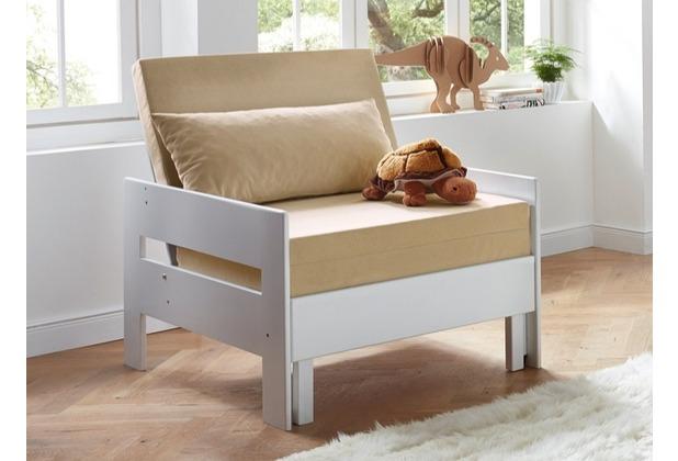 relita Zusatz-Sessel NOEL lackiert weiß