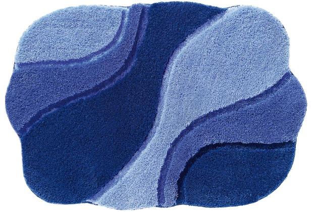 RHOMTUFT Badteppich AMBIENTE polarblau/ultramarin/royal Wunschmaß