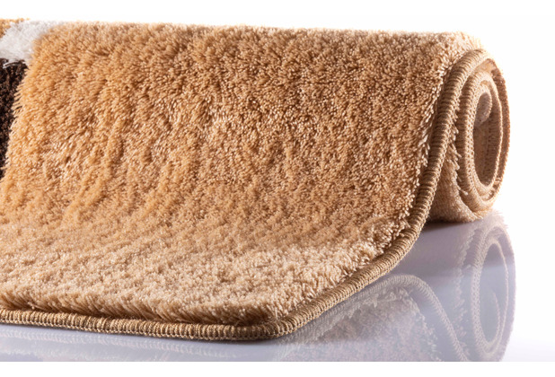 RHOMYhome Badteppich MIRA sand 50x60 cm