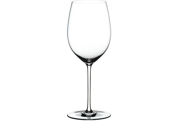 Riedel Fatto A Mano Cabernet/Merlot Glas mit weißem Stiel