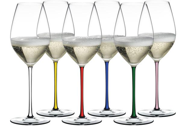Riedel FATTO A MANO GIFT SET CHAMPAGNE GLASS 6er-Set
