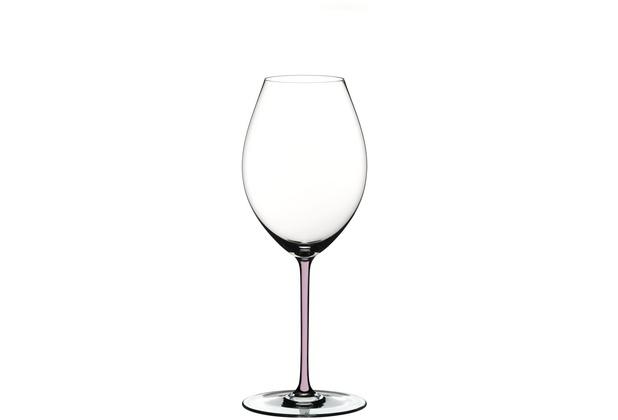 Riedel Fatto A Mano Old World Syrah Glas mit pinkem Stiel