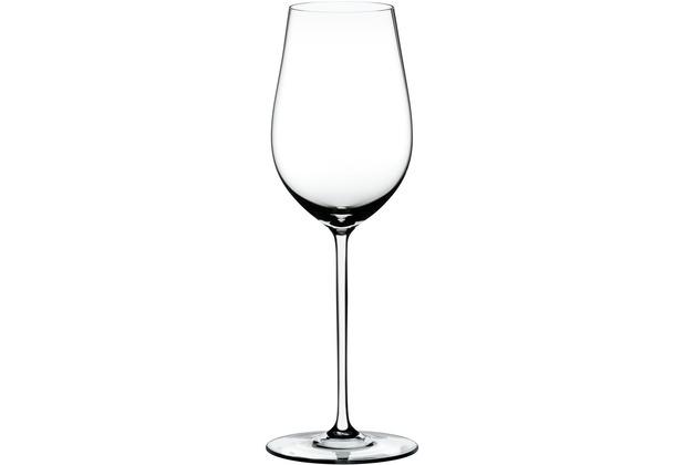 Riedel Fatto A Mano Riesling/Zinfandel Glas mit weißem Stiel