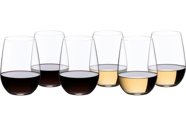 "Riedel \""O\"" Riesling/Sauvignon Blanc 6er Set - Weingläser"