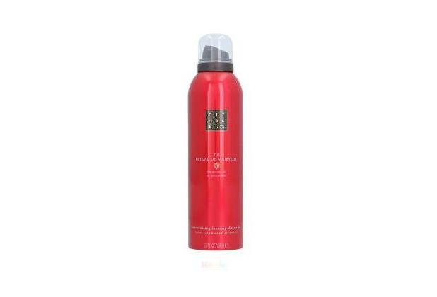 Rituals Ayurveda Foaming Shower Gel Indian Rose & Sweet Almond Oil 200 ml