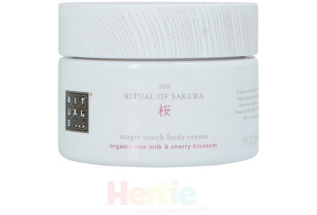 Rituals Sakura Magic Touch Body Cream Organic Rice Milk & Cherry Blossom 220 ml