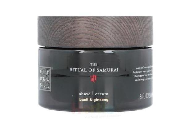 Rituals Samurai Shave Cream Basil & Ginseng 250 ml