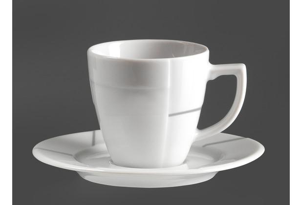 Flirt by R&B Espressountertasse Porzellan 12x12x2cm rund STEP weiß