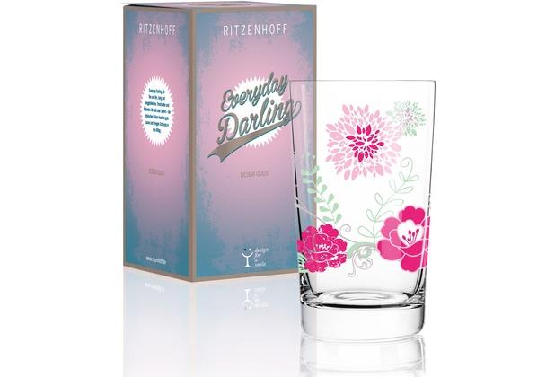 Ritzenhoff Softdrinkglas von Carolin Körner Blumen 300 ml