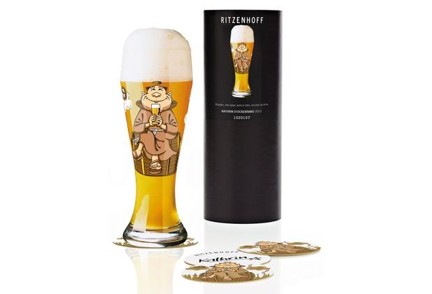 Ritzenhoff Weizenbierglas von Kathrin Stockebrand Mann 500 ml