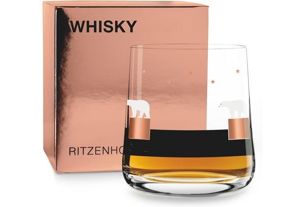Ritzenhoff Whiskyglas von Alessandro Gottardo Eisbär, Sterne 250 ml
