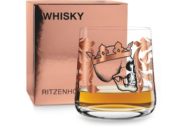Ritzenhoff Whiskyglas von Medusa Dollmaker Totenkopf 250 ml