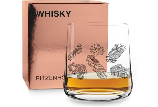 Ritzenhoff Whiskyglas von Vasco Mourão Illustration 250 ml